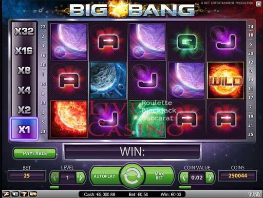Big Bang Slots Net Entertainment